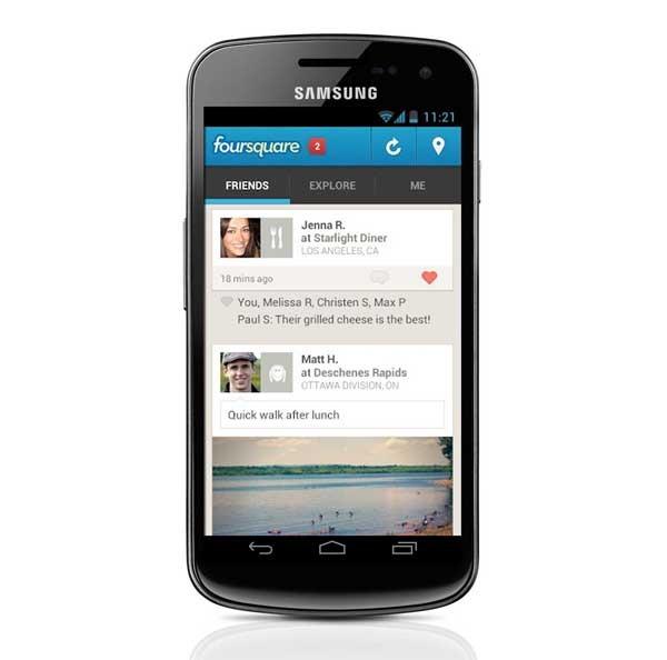 Foursquare, ahora con información personalizada de lugares