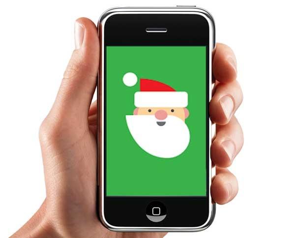 Cómo seguir el recorrido de Papá Noel desde tu Smartphone