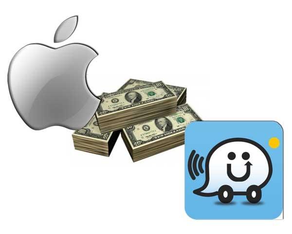 Waze no ha querido ser comprada por Apple
