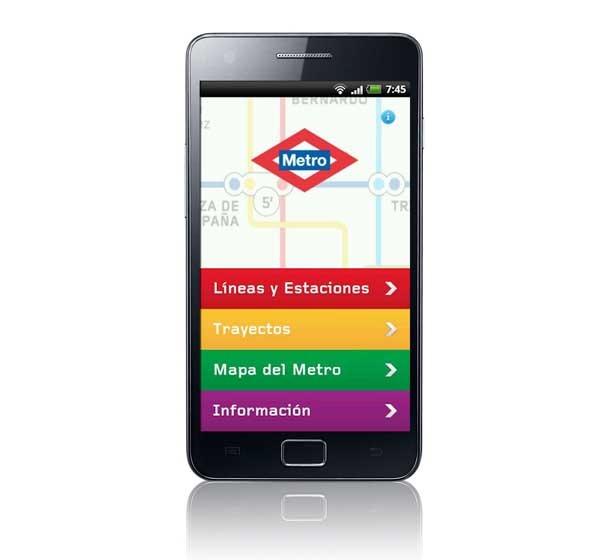 Metro Madrid Oficial, planea tu trayecto también en Android