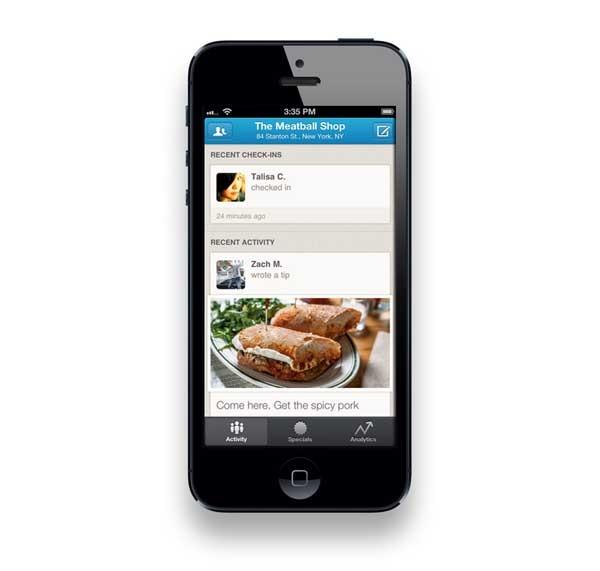 Foursquare for Business, lleva el perfil de tu negocio desde  el móvil