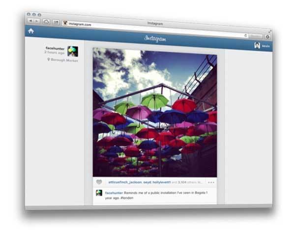 Instagram, tus suscripciones ahora también en la web