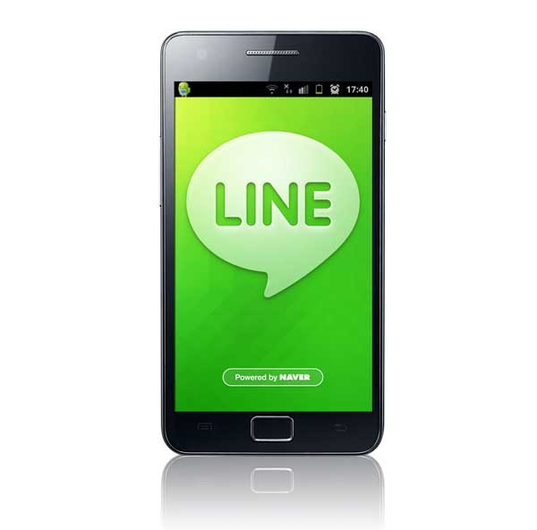 LINE, ahora con carga masiva de fotos para el muro en Android