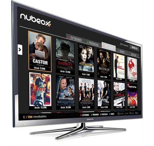 Llega el videoclub NUBEOX a las Smart TV de Samsung