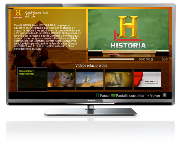 how to add apps to philips smart tv