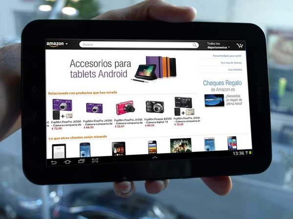 Amazon lanza una aplicación para comprar desde las tabletas