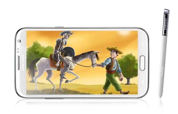 Las Aventuras de Don Quijote llegan a los terminales Samsung