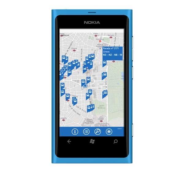 Lanzan la aplicación de la EMT Madrid para los Nokia Lumia