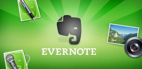Evernote ahora guarda notas tomadas en una libreta física