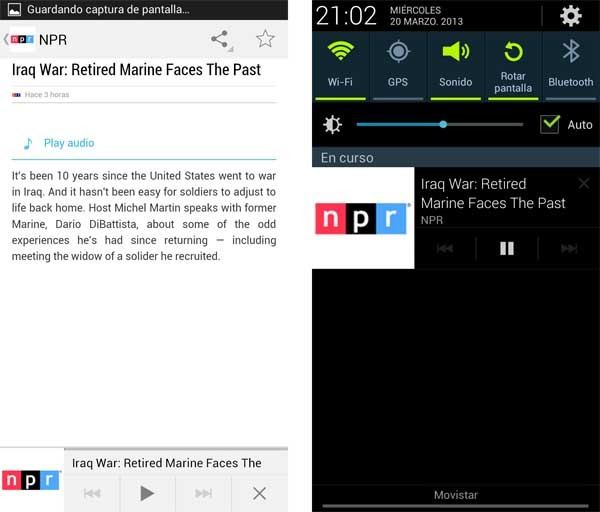 google currents audio