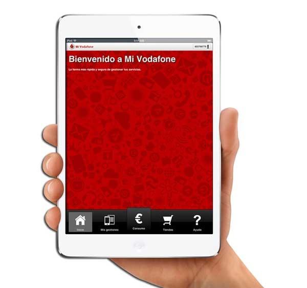 Mi Vodafone, consulta tus facturas cómodamente desde tu tableta