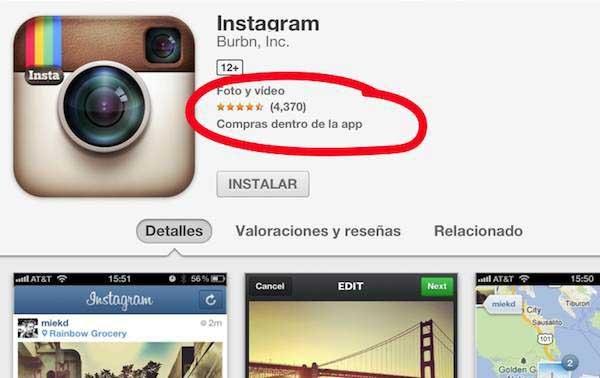La App Store tiene fallos en la descripción de aplicaciones