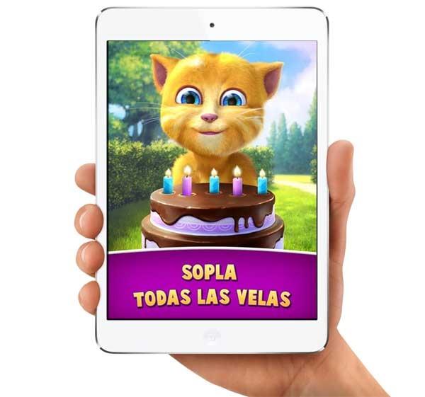 Cumpleaños de Ginger, celebra el cumpleaños de este gato contestón