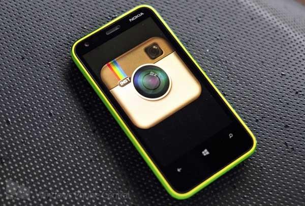 Instagram llegará muy pronto en los móviles Nokia Lumia
