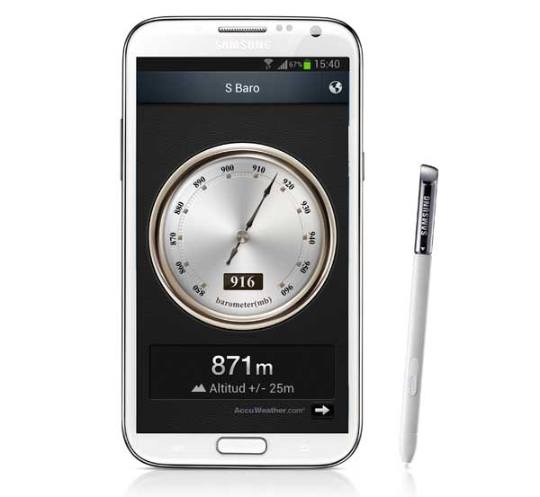 S Baro, conoce la altura a la que estás con tu móvil Samsung