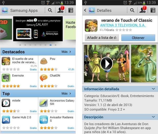 samsung apps descargar