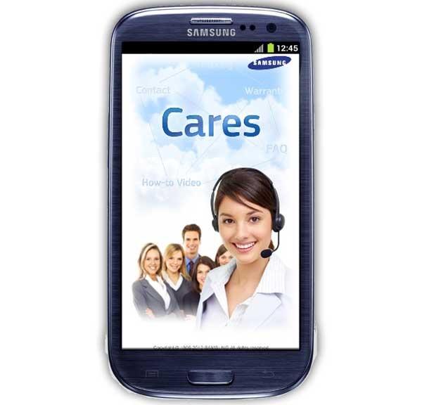 Samsung Cares, un centro de atención al cliente para usuarios
