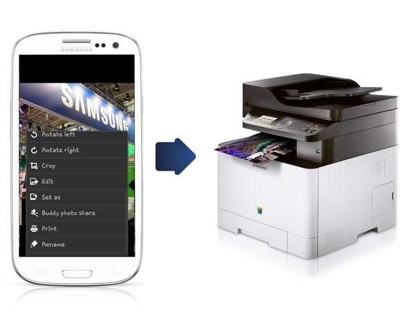 Cómo imprimir documentos desde un móvil o tableta Samsung