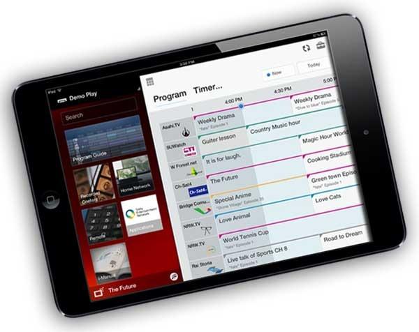 TV SideView, una guía interactiva para televisores Sony