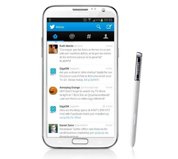 Twitter, ahora con nuevo aspecto en Android y tweets desplegables