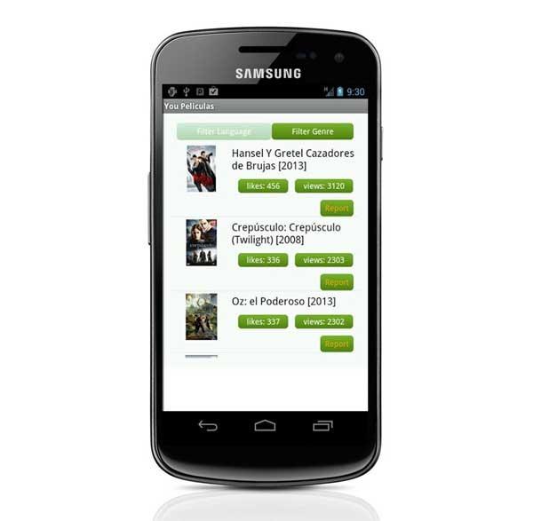 You Películas Gratis, películas de cine gratis en tu dispositivo Android