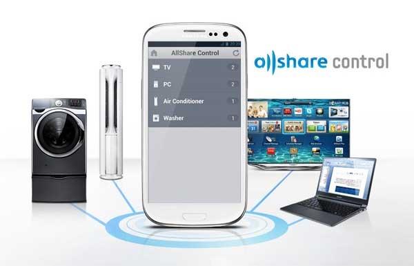 AllShare Control, una app para controlar todos los electrodomésticos Samsung