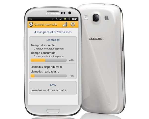 Controla el gasto de móvil y la tarifa plana del operador con esta aplicación