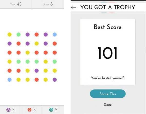 Dots, un adictivo juego de habilidad para iPhone | Trucos para ...