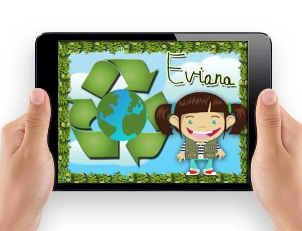 Eviana Reciclaje, un juego para aprender a reciclar