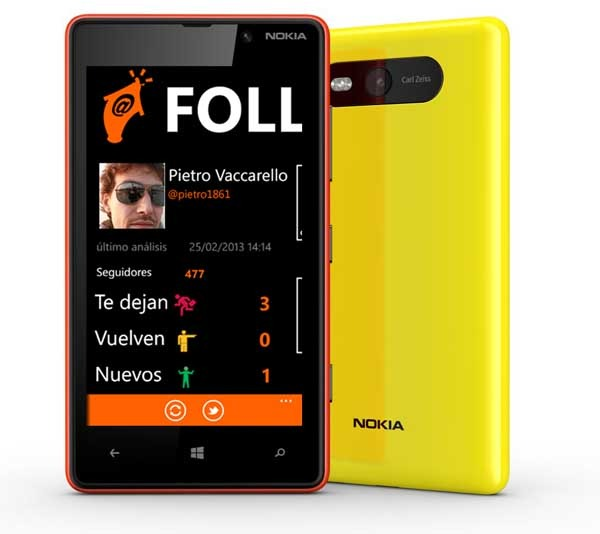 Follorep, conoce a tus seguidores de Twitter desde tu Windows Phone
