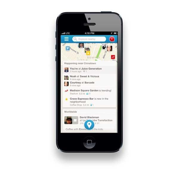 Foursquare, ahora comparte tus logros en Facebook y Twitter