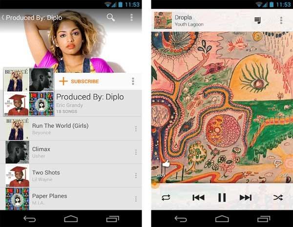 Ya puedes escuchar tus canciones de Google Play Music en mayor calidad