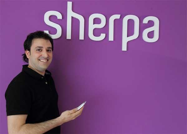 Sherpa, el asistente por voz que informa incluso sin preguntar