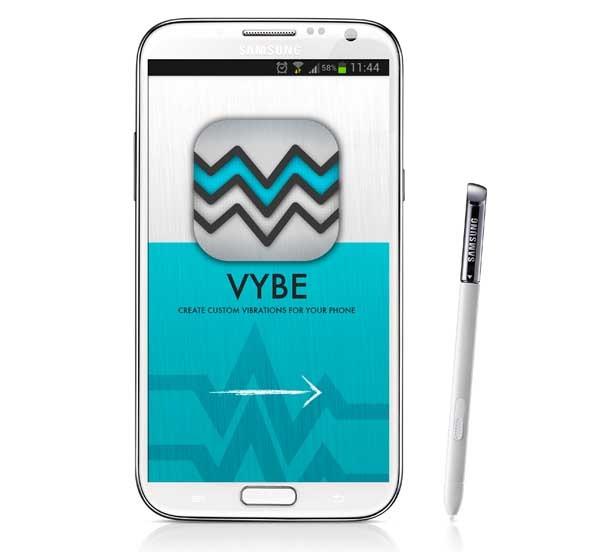 Vybe, reconoce a la persona que te llama por cómo vibra el móvil