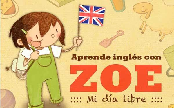 Aprende inglés con ZOE, un libro interactivo para aprender idiomas