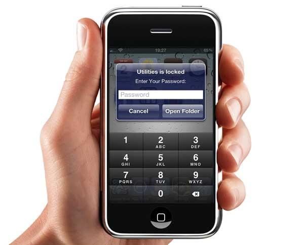 Cómo poner contraseña en las apps del iPhone