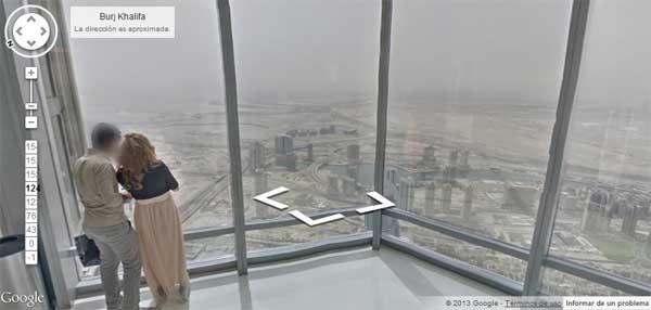 Google street view llega al edificio m s alto del mundo for Edificio movil en dubai