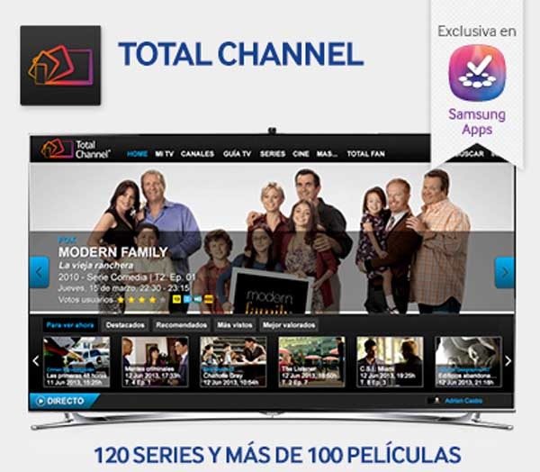 TotalChannel, televisión a la carta con posibilidad de grabación