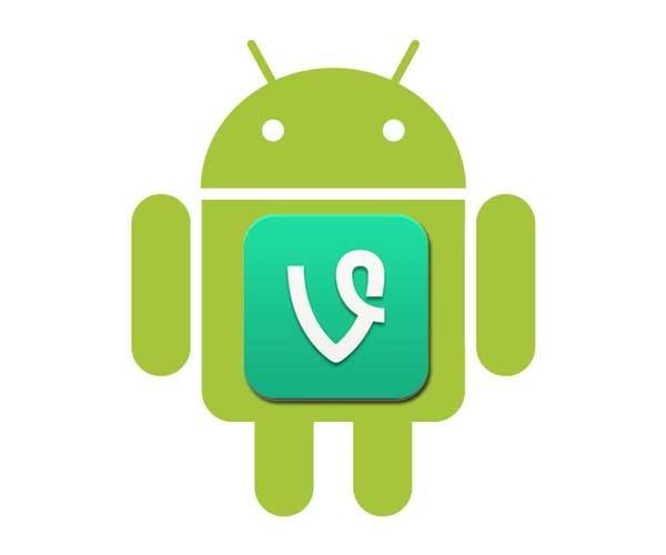 Vine ahora permite grabar con la cámara delantera en Android