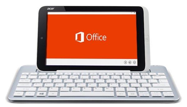 Microsoft Office llegará gratis a las tabletas con Windows 8