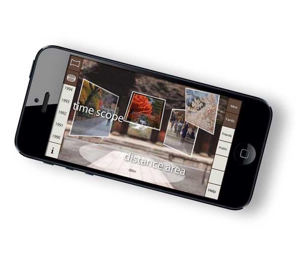 Yesterscape, una máquina del tiempo fotográfica para iPhone