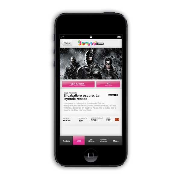 Yomvi, la oferta de programación de Canal+ se actualiza para el iPhone