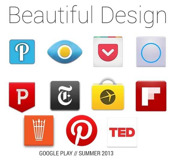 Las aplicaciones para Android con mejor diseño