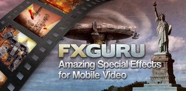 FxGuru, los efectos especiales llegan a los vídeos de Android