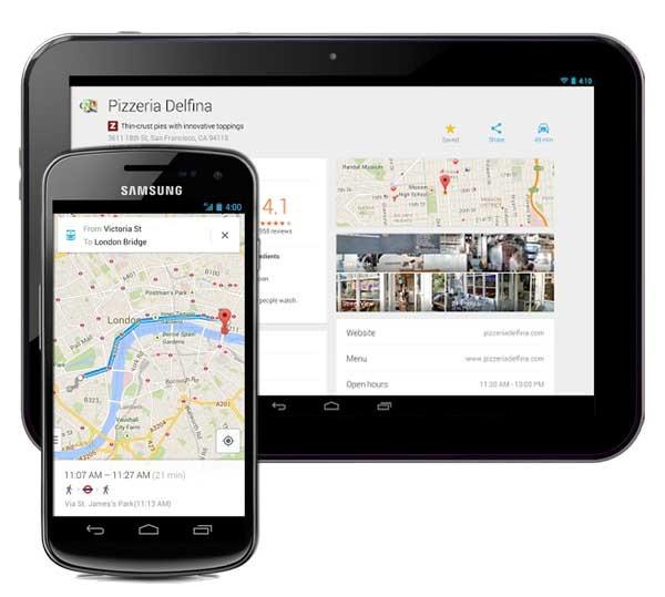 Los nuevos mapas de Google Maps llegan a Android