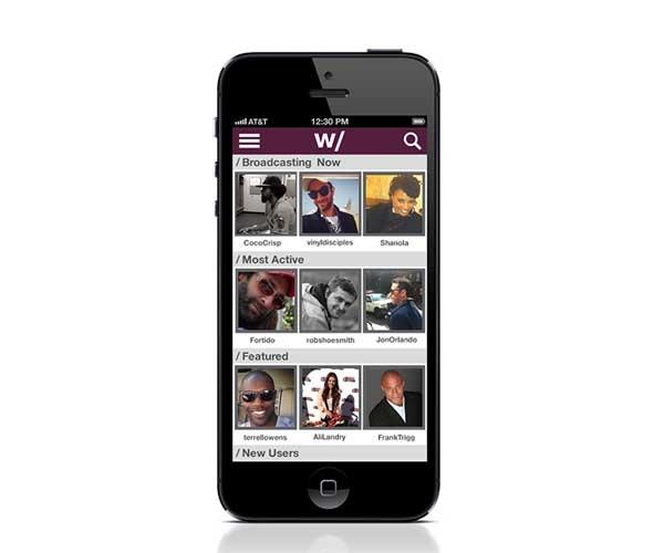 Hang w/, una red social de vídeos en directo con celebridades