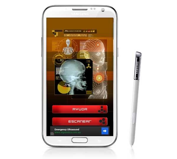 Escáner de rayos X, gasta bromas a tus amigos desde tu móvil Samsung