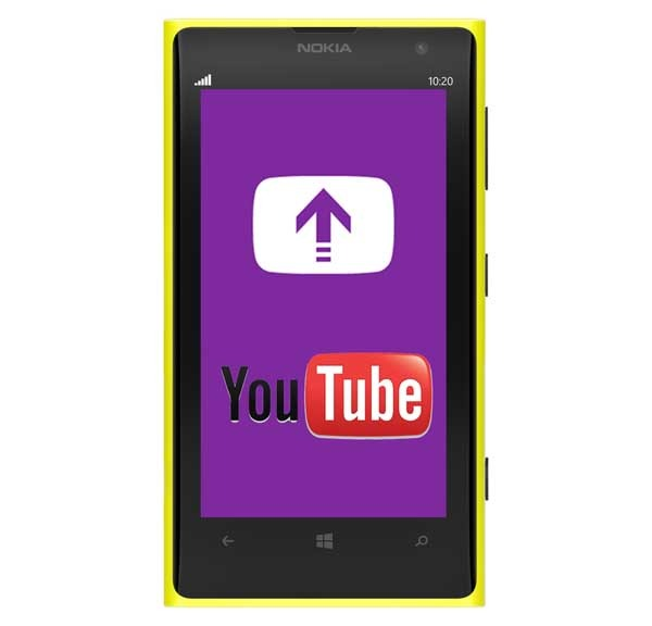 Cómo subir vídeos directamente a YouTube con tu Nokia Lumia