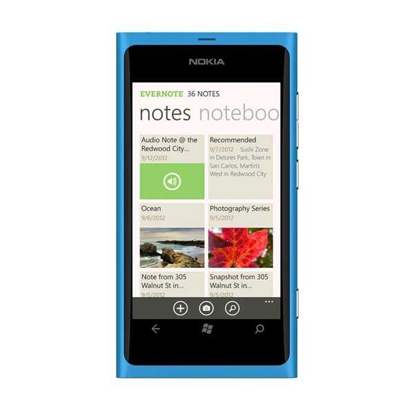 Evernote, la app de notas llega por fin a Windows Phone 8
