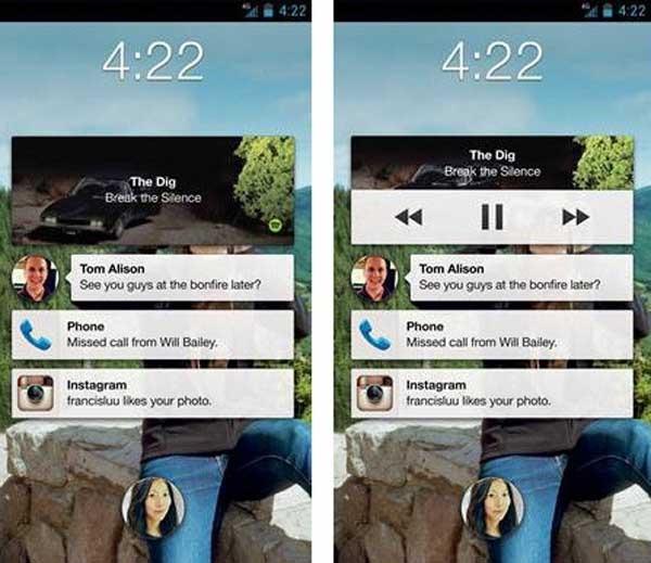 facebook controles música